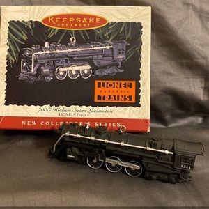 Hallmark Ornament 700E Hudson Steam Locomotive